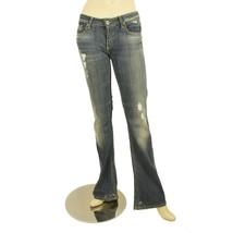 Dondup Blue Kinshasa Denim Jeans Distressed Trousers Pants sz 27 code P1... - $65.49