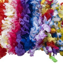 Mega Lei Assortment Pack of 50 Assoted Styles Party Decorations - £10.94 GBP
