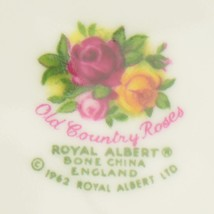 Royal Albert Old Country Roses Salad Plate Bone China England Replacement Decor - $16.99