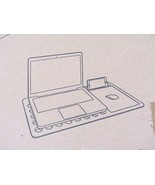 Portable Multi Functional Natural Bamboo Laptop Notebook Desk - NEW - $34.60