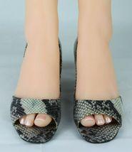 Franco Sarto L Dash Mujer Mediano Tacones Punta Abierta Animal Estampado Zapatos image 3