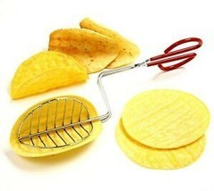 Taco Maker Press Fried Taco Shells Mold Crisp Deep Fryer Kitchen Tools G... - $17.14