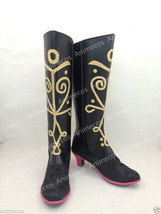 New Frozen Princess Anna Cosplay Shoes Boots Custom made Updated Version - $49.49