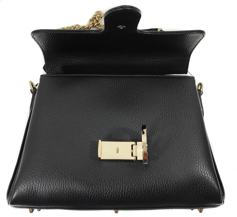 85d1e9e2f5e3b1 NWT GUCCI 510302 Interlocking G Leather/Chain Borsa Crossbody Bag