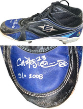 Carlos Pena signed Easton MLB 2008 World Series/Playoffs Game Used Right... - $174.95