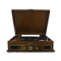 Pyle PTT30WD - Vintage Classic-Style Bluetooth Turntable Vinyl Record Player wit - $219.84