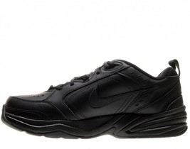 Nike Air Monarch Black (4E Extra Wide) 416355-001 Leather Classic Casual Men - $64.95