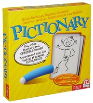 Mattel Games MAT-DKD47-9997 Pictionary Board Game, Yellow - $23.07