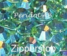 72 Swarovski Crystal Rhinestones ~30ss~ Peridot AB - $17.77