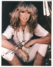 Farrah Fawcett (d. 2009) Signed Autographed Glossy 8x10 Photo - COA Matching Hol - $197.99