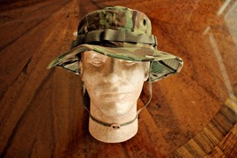 Us Army G.I. Multicam Acu Ripstop Camouflage Combat Floppy Hat Boonie Cap Size 7 - $24.74