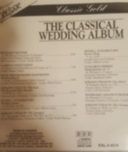 The Classical Wedding Album Cd  image 2