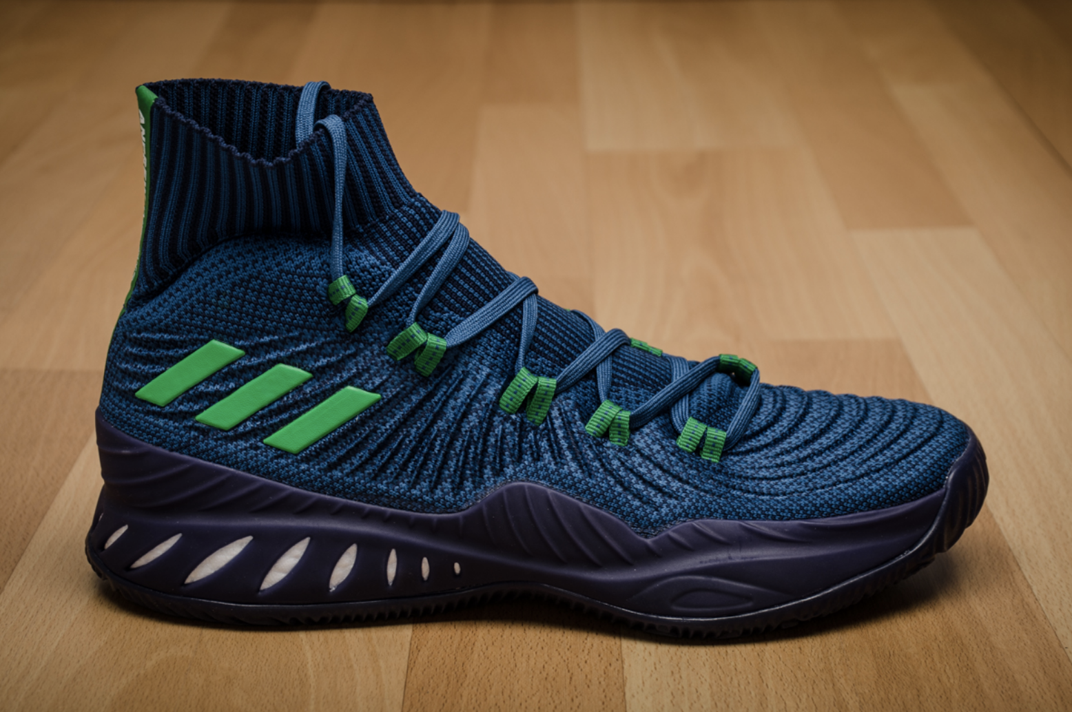 cheaper 29c67 cde62 NEW! adidas CRAZY EXPLOSIVE PRIMEKNIT Andrew Wiggins Navy Blue Shoes BY4468  PE