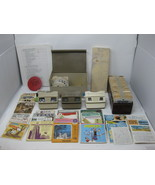 Huge Lot of Vintage 345 Viewmaster Reels, Cases & 3 Viewers - $395.99