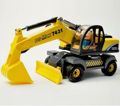 Daesung Toys Melody Dozer Shovel Bulldozer Forklift Car Vehicle Construction Toy image 4