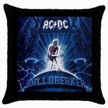 Throw pillow case cover ac dc ac/dc - $19.50