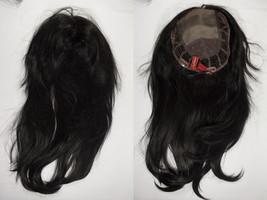 Top Style 18 1B Brunette Long Monofilament Jon Renau Straight Hair Pieces - $255.82