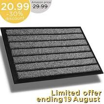 Extra Durable Doormat Outdoor 30x18 - Rubber Outdoor Doormat - Absorbent... - $20.60