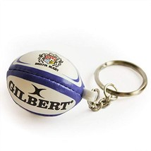 Gilbert Bristol Rugby Ball Key Ring image 1