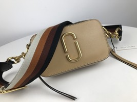 Marc Jacobs Snapshot Small Camera Bag Crossbody Bag Apricot - ₨15,353.48 INR