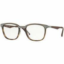 Ray Ban Eyeglasses Frames Havana Brown Glasses RX7117 8016 52 Optical - $79.19