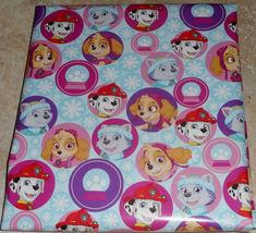 PAW PATROL SNOWFLAKES AMERICAN GREETINGS CHRISTMAS Wrapping PAPER 20 SQ ... - $4.75