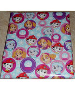 Paw Patrol Christmas Kids Wrapping Paper 20 sq ft Roll - $6.50