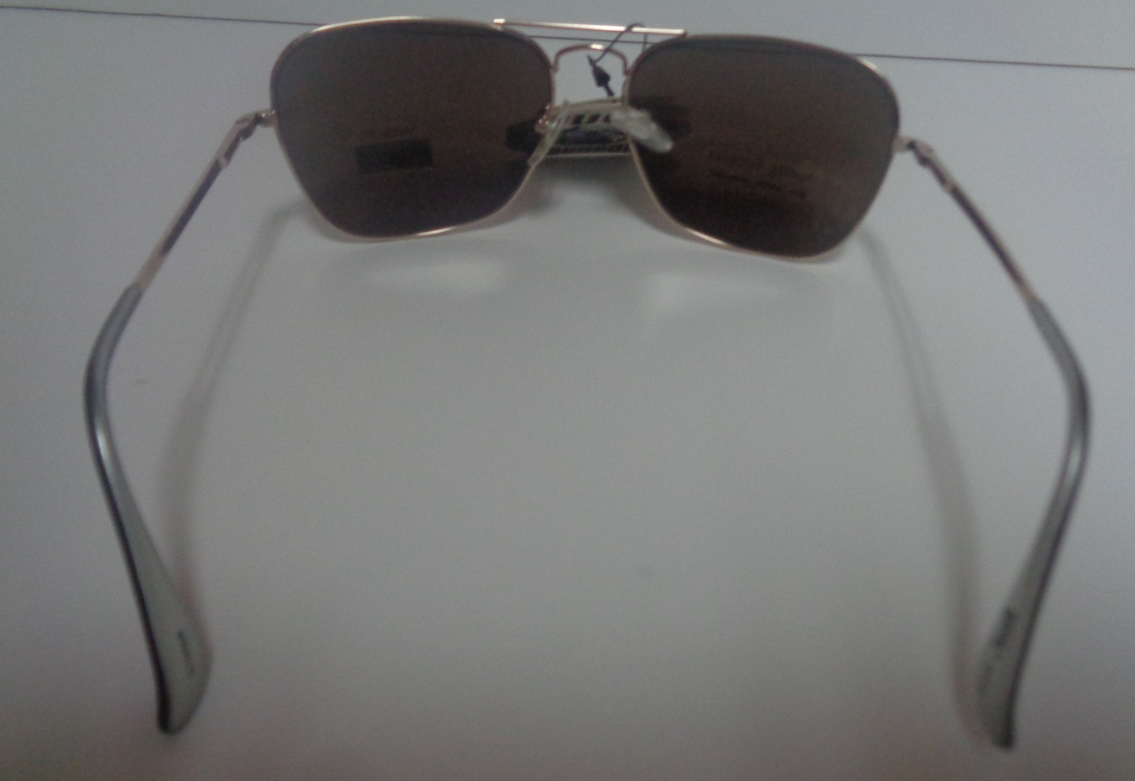 PUGSGEAR Gold Metal Spring Temples Sunglasses NWT UV400 Protection