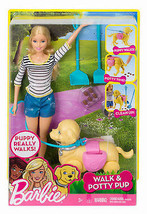 Barbie Dog Walker - $37.61