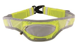 An item in the Sporting Goods category: Nathan Yellow Reflective Belt Running Waist Pack NWT