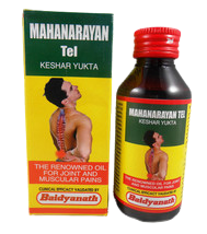 Baidyanath Mahanarayan Tel Oil Joint & Muscular Pains Natural Herbel - $9.99+