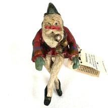 1989 House of Hatten Xmas Elf Enchanted Forest Santa Claus Denise Calla ... - $29.45