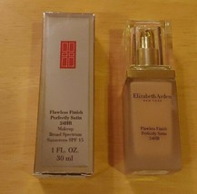 Elizabeth Arden Flawless Finish Perfectly Satin Makeup DISCONTINUED Sand 07 - $36.47