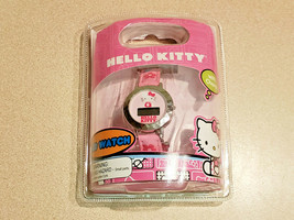 Sanrio Hello Kitty Child's Pink LCD Watch with Charm (NEW) - $14.80