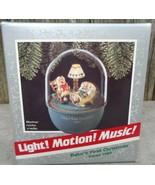 Hallmark Baby's First Christmas Ornament 1989 Magic Light & Sound - $20.00