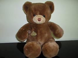 GUND Tender Teddy Karitas Bear Brown 14 inch 1983  - $120.15