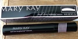 Brand New Mary Kay Lash Love Lengthening Mascara  I Love Black .28 Full ... - $14.50