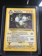 Magneton Holographic RARE Pokemon Card 11/62 Mint never played US FREE S... - $11.30