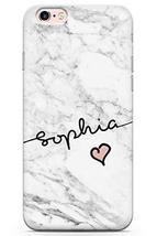 Case Warehouse iPhone 6 Case, iPhone 6s Personalised Custom Name White M... - $9.75