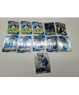 Lot Of 11 2020 Absolute & Mosaic Carolina Panthers Rookie, Insert & More... - $7.68