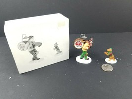 Dept 56 Heritage Village One Man Band and The Dancing Dog Set of 2 #58891 - $14.23