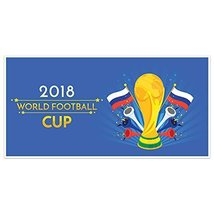 Russia 2018 World Cup Football Banner Party Decoration - £16.88 GBP