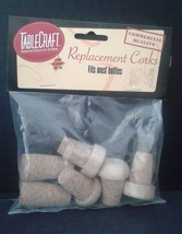TableCraft 6 Pack Replacement Corks H9226C Wine... - $5.99