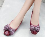 Pring ladies flat shoes fashion bow casual women shoes pu leather female flat boat thumb155 crop
