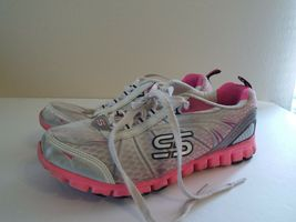 Skechers Flex 8 Women Sneakers Pink and White image 3