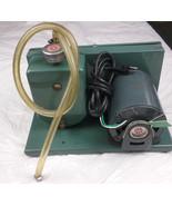 Oil Vacuum Pump Marvac Scientific Model A10 Industrial Motor Valve Filter - $142.49