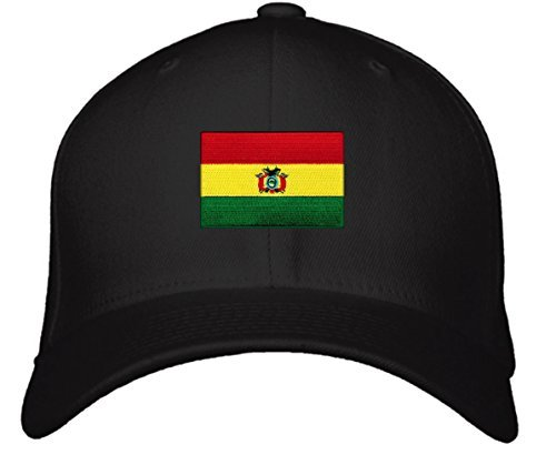 Bolivia Flag Hat - Adjustable Men's Red/Yellow/Green