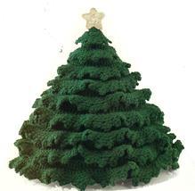 "HTF~Christmas Tree Centerpiece Crochet Pattern~11"" x 13"" - $14.99"