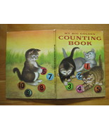 MY BIG GOLDEN COUNTING BOOK  MOORE GARTH WILLIAMS 1973 Cats Rabbits Baby... - $12.99