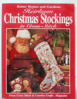 Heirloom Christmas Stockings in Cross Stitch Book 1995